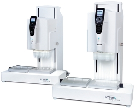 Figure 1 VIAFLO 96 384 Electronic Handheld Pipet Systems From INTEGRA Include And Channel Pipetting Heads