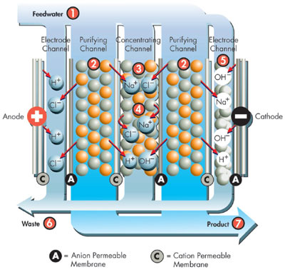 Ro Edi The Preferred Water Purification Technology For