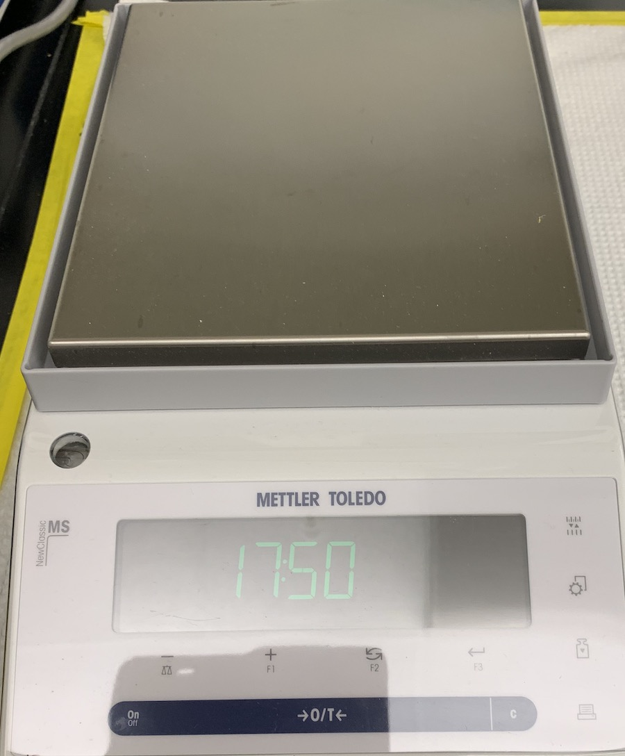 Highly Accurate Weighing Scale