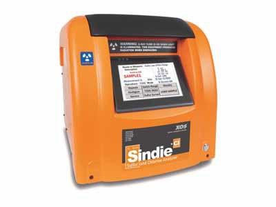 SINDIE +氯;硫加氯气XRF分析仪