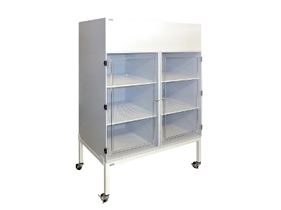 Vertical Laminar Flow Storage Cabinet From Cleatech Laboratory Solutions