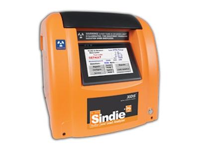 SINDIE +铅:硫加铅XRF分析仪