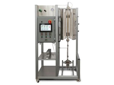 Continous Flow Tubular Reactor with Touchscreen Control