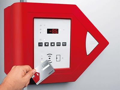 ULTRA.GUARD™ – Optional access via RFID key cards