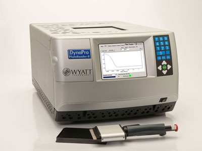 DynaPro® Dynamic Light Scattering Plate Reader From Wyatt Technology  Corporation