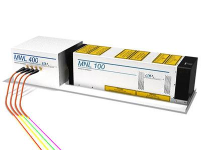 Pulsed Multi-Wavelength Laser