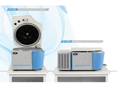 NuWind Multi-Application Bench Top Ventilated or Refrigerated Centrifuges from NuAire
