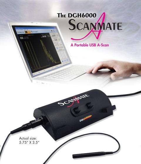 DGH 6000 A-Scan